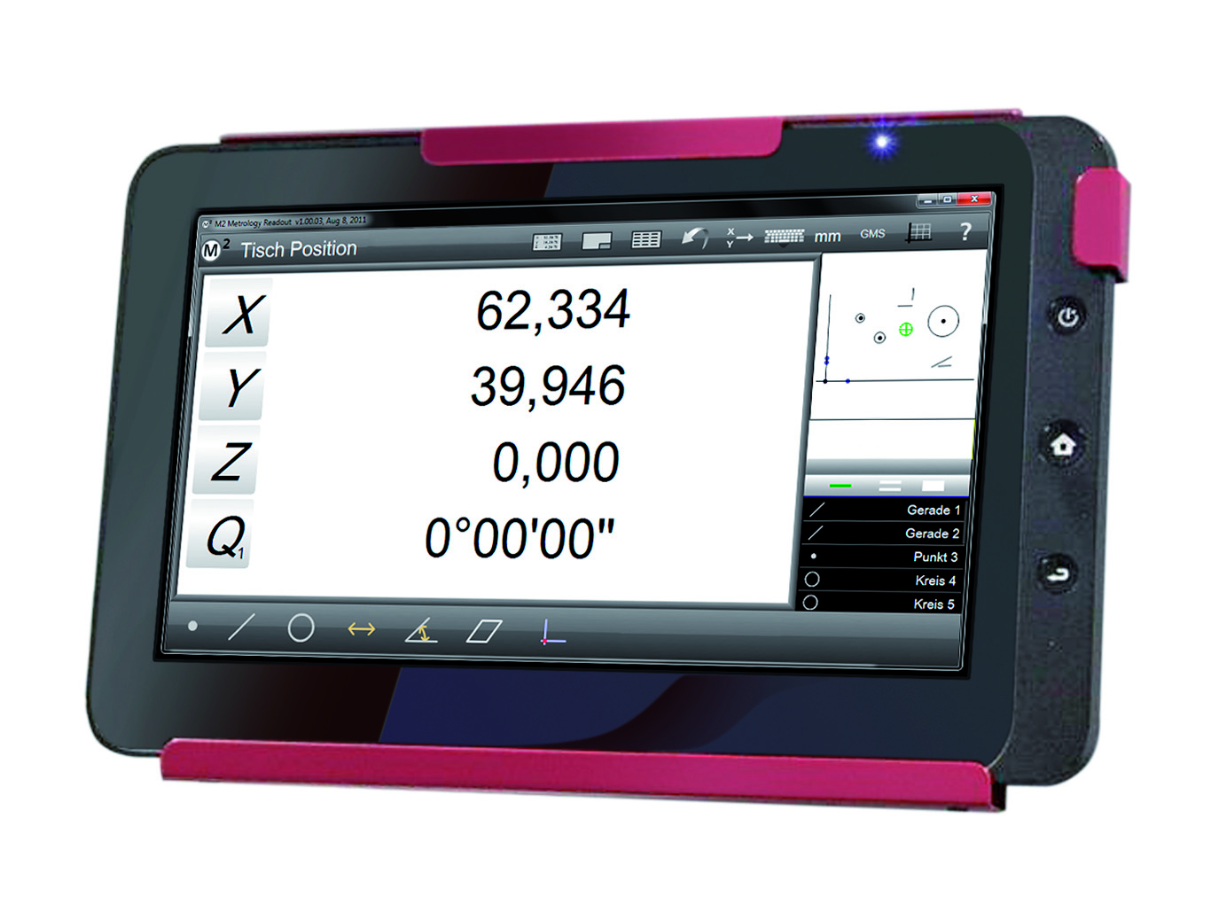M2 measurement software